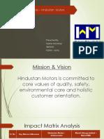 Business Strategy Analysis_Hindustan Motors_Tejaswi Monangi