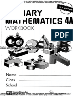 Singapore Math 4A - Workbook
