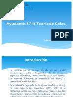 1. Introducción a La Teoría de Colas Aplicadas a Los Servicios.