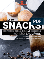 Guia de Snacks - Amazing Gym
