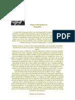 Grigore Alexandrescu - Biografie
