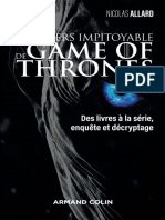 L'univers impitoyable de Game of Thrones (2018) - Nicolas Allard