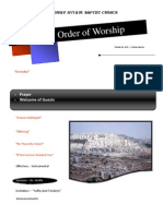 Order of Worship 10 24 2010 v1