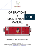 Operation Manual of AHU