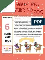 Cartel de Reyes 2019 Cabalgata