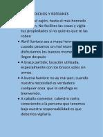 DICHOS Y REFRANES.docx