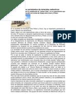 Bolivia Tiene Yacimientos de Minerales Radiactivos