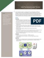 Ariba Procurement Content Solution