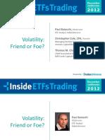 201212 - VolatilityFriendOrFoe