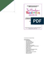 The Marvelous Wonderettes- Dream on - Program