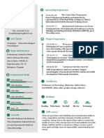 Sample Resume-WPS Office