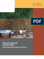 Protected areas and property rights
