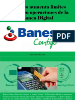 Juan Carlos Escotet - Banesco Aumenta Limites Diarios en Operaciones de La Banca Digital