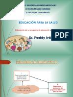 Elaboración de Un Programa de Educación Para La Salud
