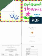 FlipMoran.origami Flowers -Book One (2004) - Michael Lafosse