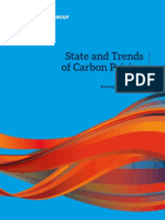 State and Trends Carbon Pricing
