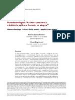 Wilson Engelman - Nanotecnologias e Aed