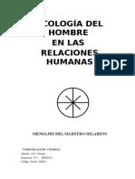 Amado Hilarion - Comunicacion Cosmica - Ecologia Del Hombre en Las Relaciones Humanas