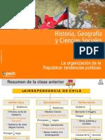 Clase 10 La organización de la República tendencias políticas 2015.ppt