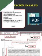 ppt acreditacion