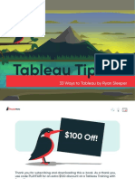 33 Ways to Tableau by Ryan Sleeper