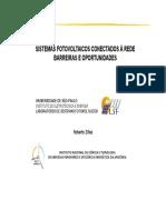 Sistemas Fotovoltaicos Conectados à Rede Artigo