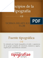 Diseño Editorial Tipografia