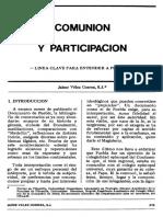 Jaime Comunión y Participacion