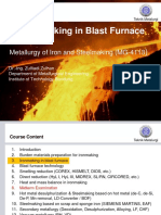 03_2. Metallurgy of Iron and Steelmaking_Ironmaking in Blast Furnace