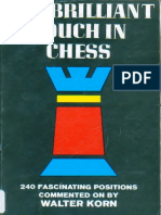Korn, Walter - The Briliant Touch in Chess - (1966)