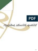 Hygiène Sécurité Qualité