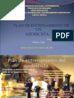 Plan de Entrenamiento Del Ajedrez