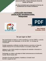 Legislacao Internacional Acolhimento