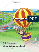 Children a1 Movers Word List 2018