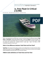 Total Float vs. Free Float in Critical Path Method (CPM) - PMP, PMI-ACP, CAPM Exam Prep