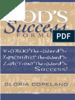 God's Success Formula by Gloria Copeland