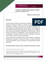 Espaço. Território e Territorialidade - Aspectos Conceituais Fundamentais