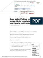 (10) Earn Value Method Wrong Productivity Calculation... and How to Get It Right! _ LinkedIn