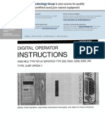 Operador Digital Operacion