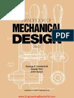 Handbook of Mechanical Design By George F Nordenholt and John Sasso and Joseph Kerr.pdf