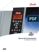 Manual de Variador - DANFOSS VTL Soft Starter MCD 500