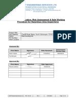 13.2.16 RA SWP for Hazardous Area Inspections