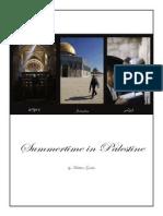 Matt Graber- Summer in Palestine