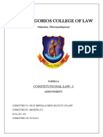 Constitution Law - Rule of Law