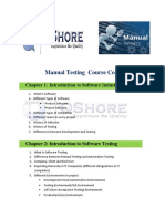 Manual Content  testing training Download PDF