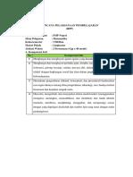 Rpp Pembelajaran Langsung Garis Singgung Persekutuan Luar 2