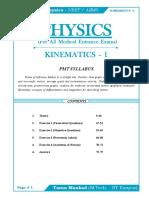 Kinematics 1r