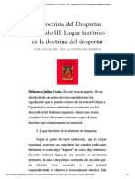 3- La Doctrina del Despertar. Capítulo III_ julius evola
