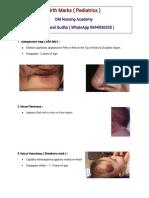 Birth Marks Pediatrics