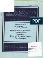 AGARD AG-298 Manual on Aeroelasticity in Axial Flow Turbomachines Volume 1